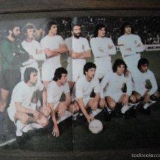 Coleccionismo deportivo: POSTER DON BALON. VALENCIA C.F. AÑOS 1978-79. . Lote 56674064