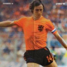Coleccionismo deportivo: GRAN POSTER JOHAN CRUYFF FC BARCELONA - SELECCION HOLANDA BARÇA 14 NETHERLANDS NATIONAL TEAM HOLLAND. Lote 172066525