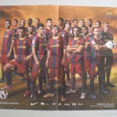 Coleccionismo deportivo: POSTER FC.BARCELONA 2010-2011 – ANVERSO BARÇA TOONS. Lote 57054342