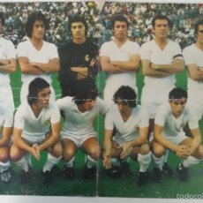 Coleccionismo deportivo: POSTER R.MADRID 1973-74 AS COLOR CAMPEON COPA GENERALISIMO. Lote 57451471