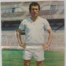 Coleccionismo deportivo: POSTER AMANCIO JUGADOR R.MADRID AS COLOR . Lote 57451827