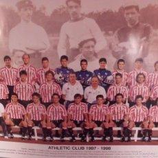 Coleccionismo deportivo: POSTER OFICIAL ATHLETIC BILBAO TEMPORADA 1997-1998. Lote 57839803