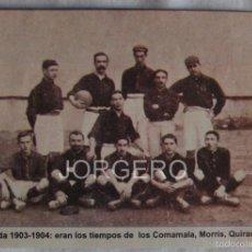 Coleccionismo deportivo: F.C. BARCELONA 1903-1904. RECORTE. Lote 58110767
