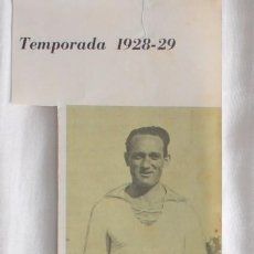 Coleccionismo deportivo: JOSÉ MARÍA PEÑA. REAL MADRID 1928-1929. RECORTE. Lote 58116989