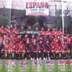 Coleccionismo deportivo: POSTER SUPER GRANDE SELECCION ESPAÑOLA MUNDIAL USA-94. Lote 58184909