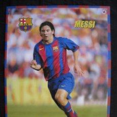Coleccionismo deportivo: POSTER MUNDO DEPORTIVO - F.C.BARCELONA - Nº 14 - MESSI.. Lote 58230741