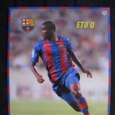 Coleccionismo deportivo: POSTER MUNDO DEPORTIVO - F.C.BARCELONA - Nº 11 - ETO´O.. Lote 58231391