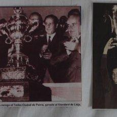 Coleccionismo deportivo: ZALDÚA CAPITÁN F.C. BARCELONA LOTE 2 RECORTES. Lote 58251885