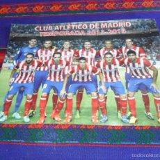 Coleccionismo deportivo: CONCAPA INFORMA PÓSTER CLUB ATLÉTICO DE MADRID 2013 2014. 28X21 CMS.. Lote 58334017