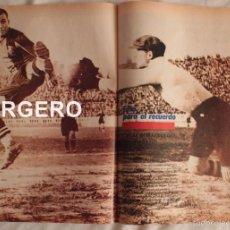 Coleccionismo deportivo: PEPE SAMITIER. F.C. BARCELONA. PÓSTER. Lote 58472604