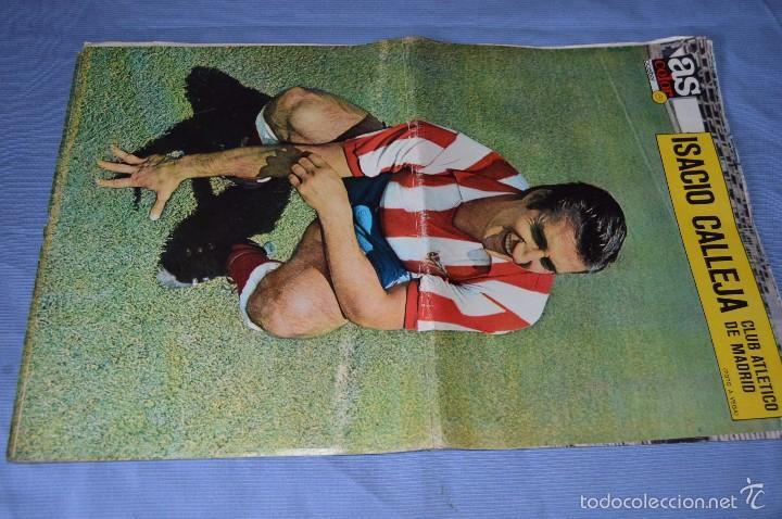 Coleccionismo deportivo: Lotazo – 8 Poster / Carteles antiguos de AS COLOR, Núm 61, 63, 64, 66, 71, 74, 75, y 239 - DIFÍCILE - Foto 2 - 59065805