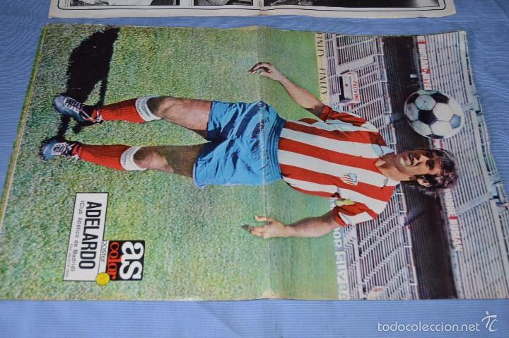 Coleccionismo deportivo: Lotazo – 8 Poster / Carteles antiguos de AS COLOR, Núm 61, 63, 64, 66, 71, 74, 75, y 239 - DIFÍCILE - Foto 3 - 59065805