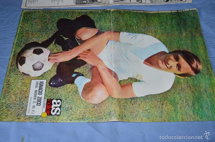 Coleccionismo deportivo: Lotazo – 8 Poster / Carteles antiguos de AS COLOR, Núm 61, 63, 64, 66, 71, 74, 75, y 239 - DIFÍCILE - Foto 4 - 59065805