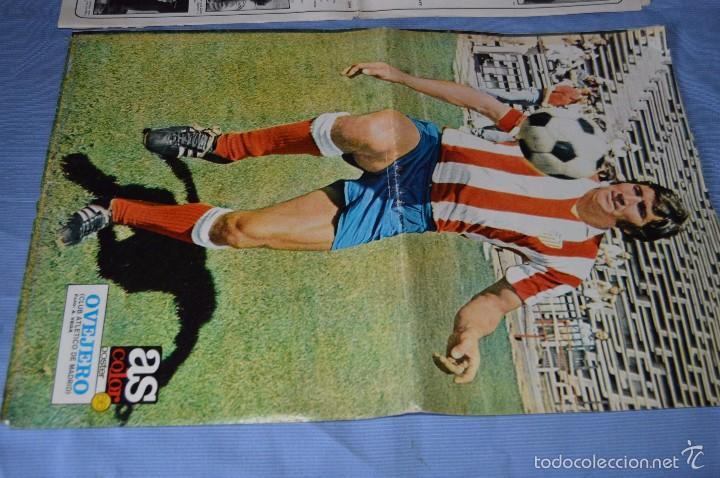 Coleccionismo deportivo: Lotazo – 8 Poster / Carteles antiguos de AS COLOR, Núm 61, 63, 64, 66, 71, 74, 75, y 239 - DIFÍCILE - Foto 5 - 59065805