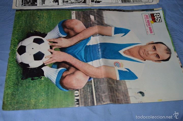 Coleccionismo deportivo: Lotazo – 8 Poster / Carteles antiguos de AS COLOR, Núm 61, 63, 64, 66, 71, 74, 75, y 239 - DIFÍCILE - Foto 6 - 59065805