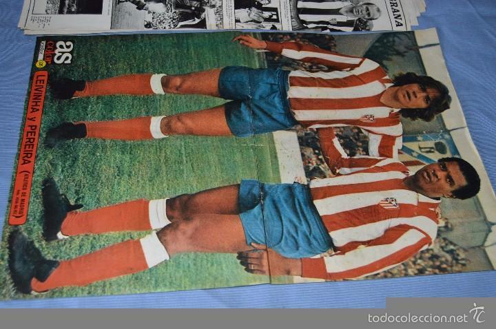 Coleccionismo deportivo: Lotazo – 8 Poster / Carteles antiguos de AS COLOR, Núm 61, 63, 64, 66, 71, 74, 75, y 239 - DIFÍCILE - Foto 9 - 59065805