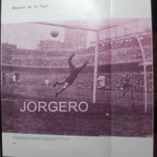 Coleccionismo deportivo: R. MADRID - VALENCIA. LIGA 1959-1960. GOL DE MATEOS. HOJA DE REVISTA. Lote 59727615