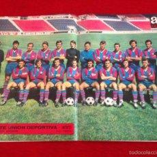 Coleccionismo deportivo: CARTEL POSTER AS COLOR PLANTILLA LEVANTE UNION DEPORTIVA. Lote 59849516
