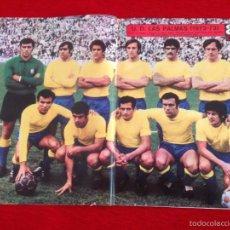 Coleccionismo deportivo: CARTEL POSTER AS COLOR PLANTILLA UNION DEPORTIVA LAS PALMAS 1972 1973. Lote 59849532