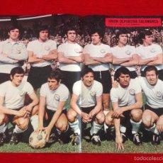 Coleccionismo deportivo: CARTEL POSTER AS COLOR PLANTILLA UNION DEPORTIVA SALAMANCA. Lote 59849884