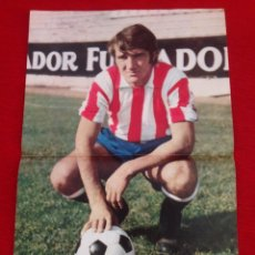 Coleccionismo deportivo: CARTEL POSTER AS COLOR CHURRUCA SPORTING GIJON. Lote 59850244