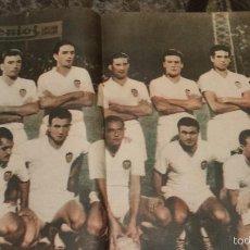 Colecionismo desportivo: POSTER DEL VALENCIA 1960-1961. Lote 60179223