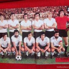 Coleccionismo deportivo: CARTEL POSTER AS COLOR PLANTILLA SALAMANCA TEMPORADA 1974 1975. Lote 60263631