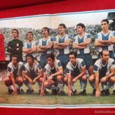 Coleccionismo deportivo: CARTEL POSTER AS COLOR PLANTILLA ESPAÑOL ESPANYOL TEMPORADA 1973 1974. Lote 60263859