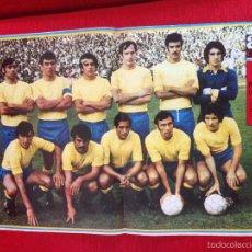 Coleccionismo deportivo: CARTEL POSTER AS COLOR PLANTILLA LAS PALMAS TEMPORADA 1973 1974. Lote 60263903