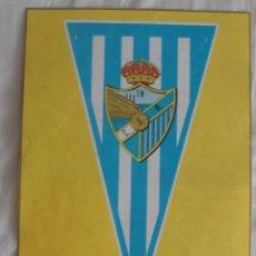 Coleccionismo deportivo: C.D. MÁLAGA 1951-1952. BANDERÍN. HOJA DE REVISTA. Lote 60279655
