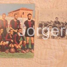 Coleccionismo deportivo: F.C. BARCELONA. LOTE 2 RECORTES CAMPEÓN DE COPA 1941-1942 EN CHAMARTÍN CONTRA ATH.BILBAO. Lote 61497735