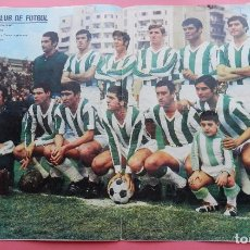 Coleccionismo deportivo: POSTER GRANDE CORDOBA CF 70/71 ALINEACION LIGA 1970/1971 Nº 12 AS COLOR ASCENSO PRIMERA DIVISION. Lote 62985984