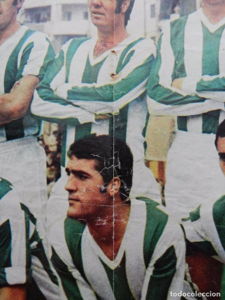 Coleccionismo deportivo: POSTER GRANDE CORDOBA CF 70/71 ALINEACION LIGA 1970/1971 Nº 12 AS COLOR ASCENSO PRIMERA DIVISION - Foto 3 - 62985984