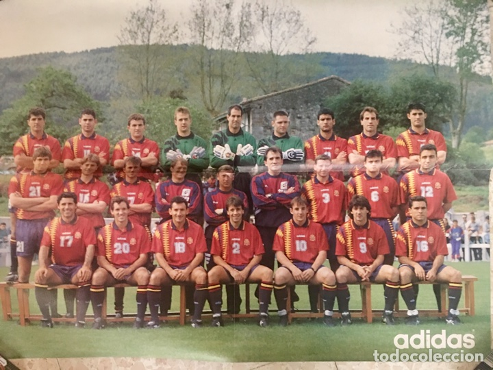 PÓSTER SELECCIÓN ESPAÑOLA DE FÚTBOL (Coleccionismo Deportivo - Carteles de Fútbol)