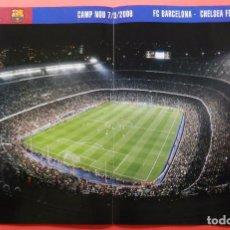 Coleccionismo deportivo: POSTER ESTADIO CAMP NOU 05/06 FC BARCELONA CHAMPIONS TEMPORADA 2005/2006 REVISTA OFICIAL BARÇA. Lote 68828829