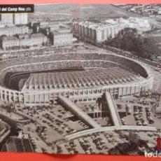 Coleccionismo deportivo: POSTER ESTADIO CAMP NOU - FC BARCELONA FOTO ANTIGUA REVISTA OFICIAL BARÇA. Lote 68828905