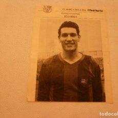Collezionismo sportivo: F.C.BARCELONA-SEGARRA,EL GRAN CAPITÁN(BARÇA GALERIA INTERNACIONALES)-EL MUNDO DEPORTIVO.. Lote 68842505
