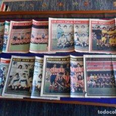 Coleccionismo deportivo: ARRIBA DEPORTIVO: ATLÉTICO MADRID PALMAS ZARAGOZA ATHLETIC BILBAO GRANADA AÑOS 70. Lote 72132919