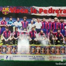 Coleccionismo deportivo: POSTER FÚTBOL CLUB BARCELONA BARÇA. Lote 72295875