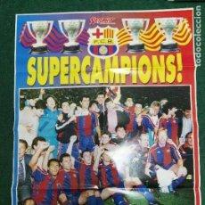 Coleccionismo deportivo: POSTER FÚTBOL CLUB BARCELONA BARÇA. Lote 72295947