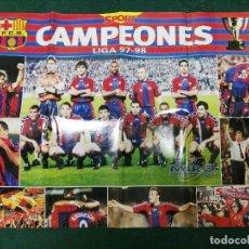 Coleccionismo deportivo: POSTER FÚTBOL CLUB BARCELONA BARÇA. Lote 72296491