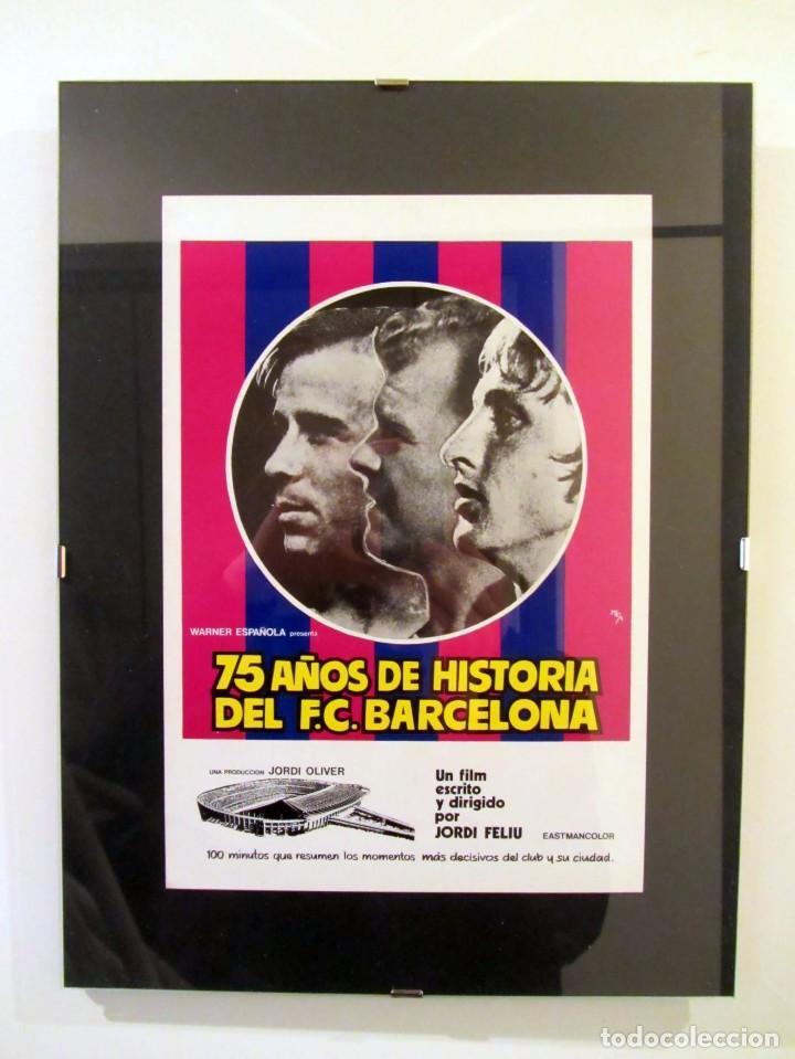 75 años de historia del f.c. barcelona (1975) g - Comprar Carteles ...