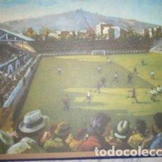Coleccionismo deportivo: LÁMINA FC BARCELONA - LES CORTS 1919 - AUTOR ANTONI VIDAL. Lote 26484490