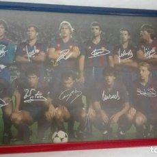 Coleccionismo deportivo: F.C. BARCELONA POSTER TEMPORADA 1984/85. Lote 76119687