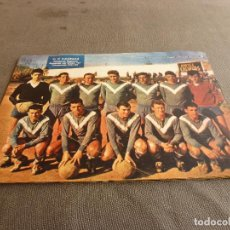 Coleccionismo deportivo: (ML)LÁMINA ORIGINAL PRENSA-TEMP.1961-62 C.F.CALELLA CAMPEÓN GRUPO A-CATEGORIA REGIONAL.. Lote 77289137
