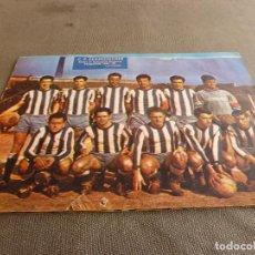 Coleccionismo deportivo: (ML)LÁMINA ORIGINAL PRENSA-TEMP.1961-62 C.F.SANFELIUENSE-GRUPO C-CATEGORIA REGIONAL.. Lote 77289445