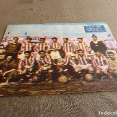 Coleccionismo deportivo: (ML)LÁMINA ORIGINAL PRENSA-TEMP.1961-62 U.D.DE VIC CAMPEÓN GRUPO B-CATEGORIA REGIONAL.. Lote 77290121