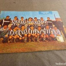 Coleccionismo deportivo: (ML)LÁMINA ORIGINAL PRENSA-TEMP.1961-62 C.D.BLANES-GRUPO A-CATEGORIA REGIONAL.. Lote 77290653