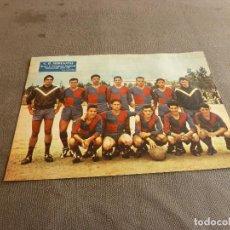 Coleccionismo deportivo: (ML)LÁMINA ORIGINAL PRENSA-TEMP.1961-62 C.G.MERCANTIL GRUPO B-CATEGORIA REGIONAL.. Lote 77291569