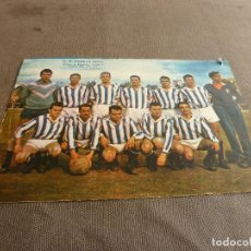 Coleccionismo deportivo: (ML)LÁMINA ORIGINAL PRENSA-TEMP.1961-62-U.D.PUEBLO SECO -GRUPO C-CATEGORIA REGIONAL.. Lote 77292645